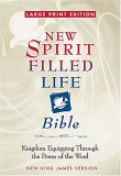 Large Print New Spirit Filled Life Bible