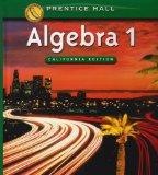 Algebra 1: California State standards