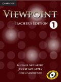 Viewpoint Level 1 Teacher's Edition