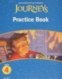 Journeys, Grade 4 Practice Book Consumable: Houghton Mifflin Journeys